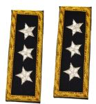 Union Lieutenant Generals Coat Shoulder Boards